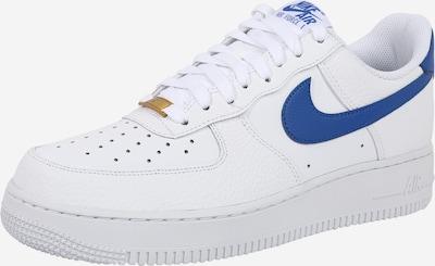 kék / fehér Nike Sportswear Rövid szárú edzőcipők 'Air Force 1 '07', Termék nézet