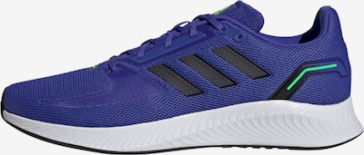 ADIDAS PERFORMANCE Running Shoes 'RUNFALCON 2.0' in Dark blue / Neon green / Black, Item view