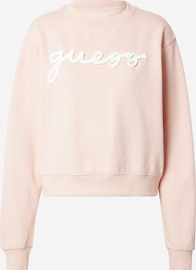 GUESS Sweatshirt 'AMANDA' in Pink / White, Item view