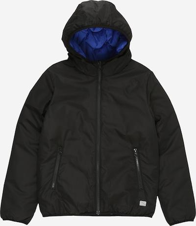 s.Oliver Jacke in blau / schwarz, Produktansicht