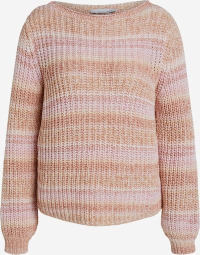 OUI Pullover in orange / rosa / weiß, Produktansicht