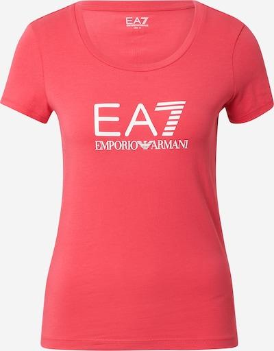 EA7 Emporio Armani T-Shirt in pink / weiß, Produktansicht