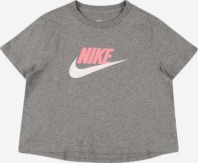 Nike Sportswear Shirt in de kleur Grijs / Pink / Wit, Productweergave