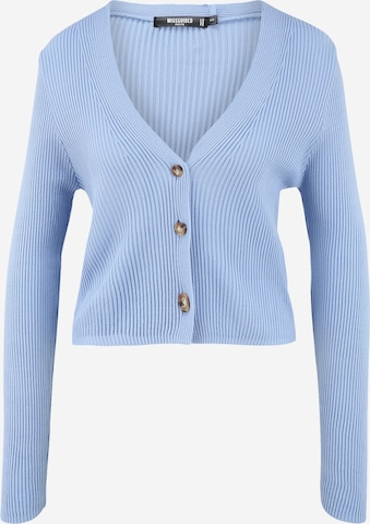 Missguided Petite Knit Cardigan in Blue