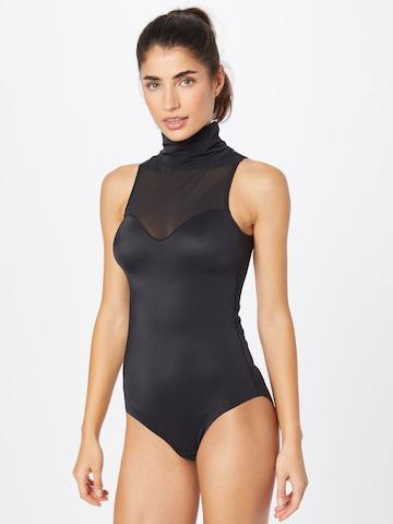 Costum de baie întreg 'EveryBody Sleeveless' de la MAGIC Bodyfashion pe negru