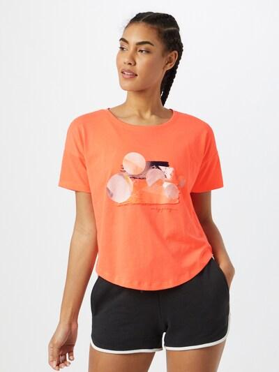 ONLY PLAY T-Shirt 'Felipa' in mischfarben / orange: Frontalansicht