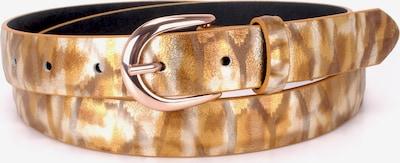 BA98 Ledergürtel in bronze, Produktansicht