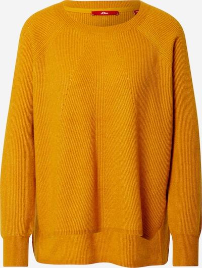 s.Oliver Pullover in gelb, Produktansicht