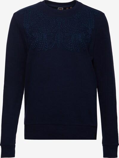 Superdry Sweatshirt 'Bohemian' in marine: Frontalansicht