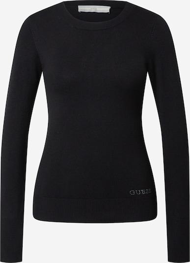 GUESS Pullover 'Elinor' in schwarz / silber, Produktansicht