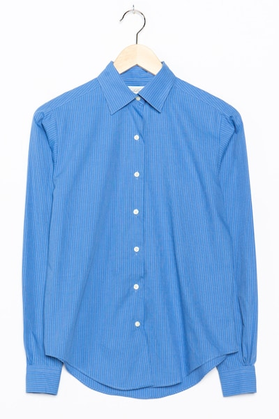 Brooks Brothers Bluse in S-M in blau, Produktansicht