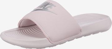 Saboți 'Victori One' de la Nike Sportswear pe roz