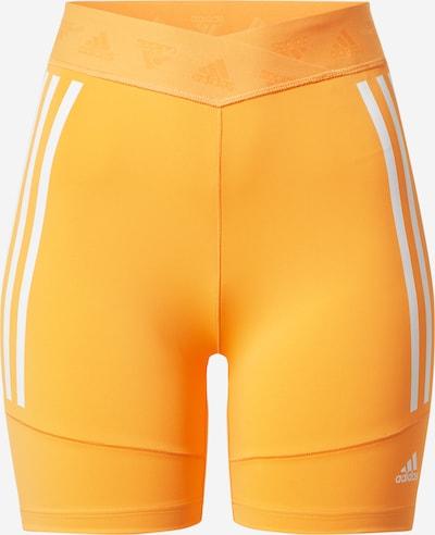 ADIDAS PERFORMANCE Sporta bikses 'Speed Creation' mandarīnu / balts, Preces skats