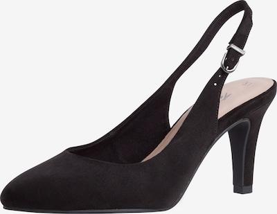 TAMARIS Zapatos destalonado en negro, Vista del producto