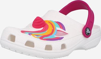 Crocs Chaussures ouvertes 'Unicorn' en mélange de couleurs / blanc, Vue avec produit