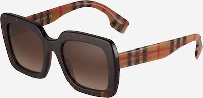 BURBERRY Слънчеви очила '0BE4284' в кафяво / светлокафяво / червено / черно, Преглед на продукта