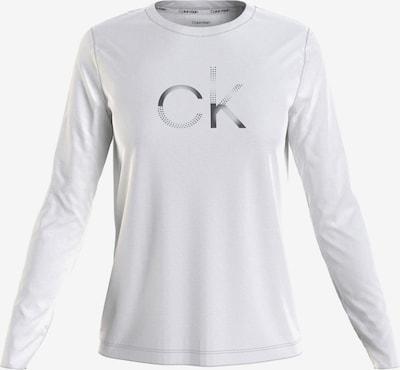 Calvin Klein Shirt in Silver / White, Item view