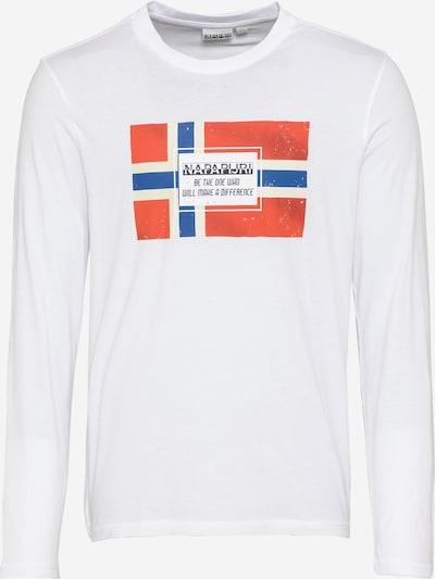 NAPAPIJRI Tričko 'SERA' - modrá / červená / bílá, Produkt