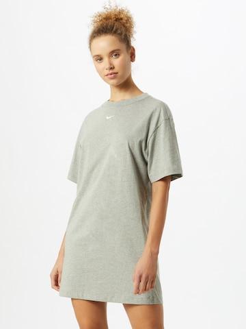 Nike Sportswear Kleid 'Essential' in Grau
