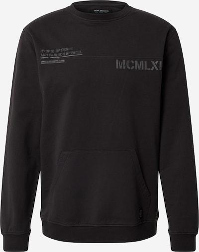 SHINE ORIGINAL Sweat-shirt en noir, Vue avec produit