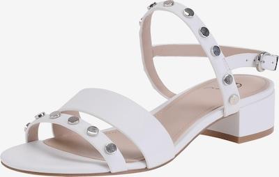 Ekonika Sandalen mit stilvollen Nietendetails in weiß, Produktansicht