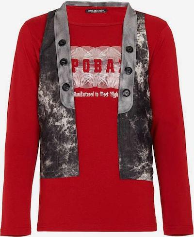 CIPO & BAXX Sweatshirt in bordeaux, Produktansicht