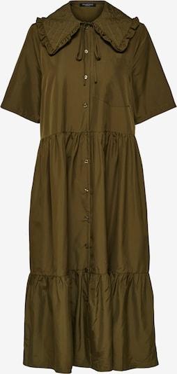 SELECTED FEMME Kleid in oliv, Produktansicht