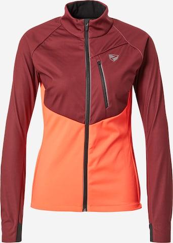 ZIENER Athletic Jacket 'NAILA' in Orange