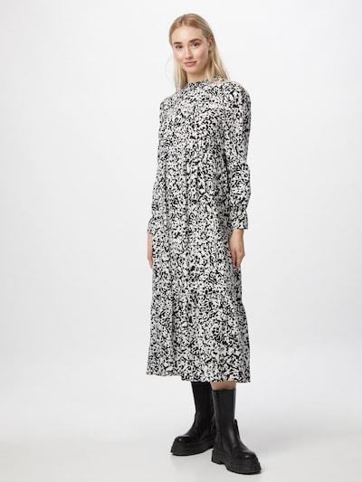 ONLY Kleid 'OLYMPIA' in schwarz / weiß, Modelansicht