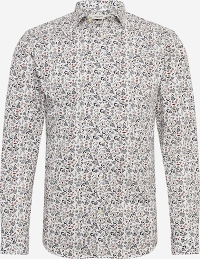 JACK & JONES Hemd in dunkelblau / khaki / rot / weiß, Produktansicht