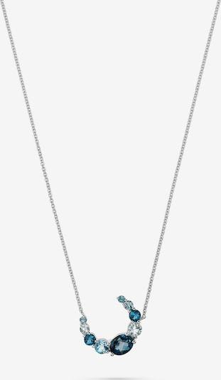 CHRIST Kette in blau / silber, Produktansicht