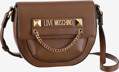 Love Moschino Umhängetasche in dunkelbraun, Produktansicht