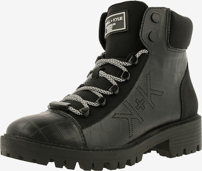 KENDALL + KYLIE Boot ' EBARI ' in dunkelgrün / schwarz, Produktansicht
