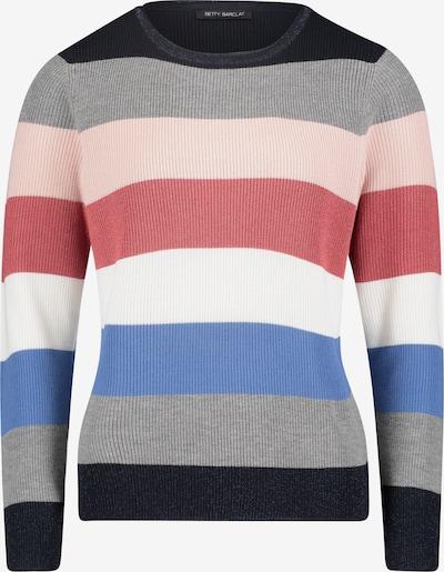 Betty Barclay Trui in de kleur Blauw / Grijs / Rosa / Rood / Zwart / Wit, Productweergave