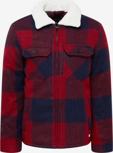 Cars Jeans Jacke 'DERULO' in navy / rot / weinrot, Produktansicht