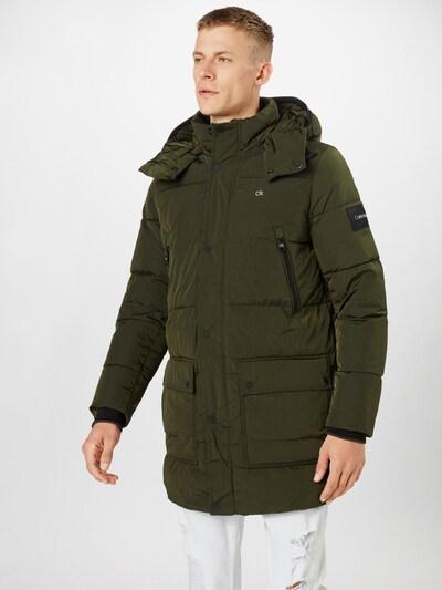 Cappotto invernale Calvin Klein di colore oliva, Visualizzazione modelli