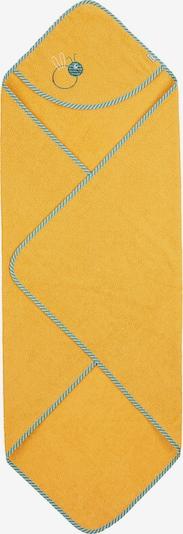 Halat de baie 'Ben' STERNTALER pe albastru fumuriu / galben auriu / roz pudră / roși aprins / alb, Vizualizare produs