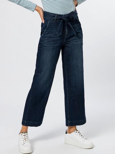 zero Jeans in blau, Modelansicht