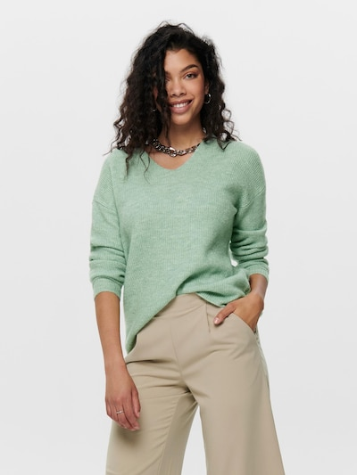 ONLY Pullover 'Camilla' in mint: Frontalansicht