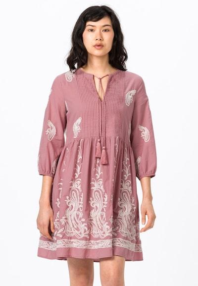 HALLHUBER Kleid in altrosa / weiß, Modelansicht