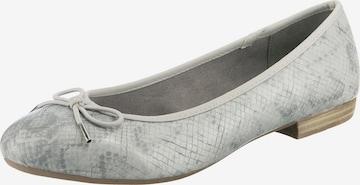JANE KLAIN Ballet Flats in Grey