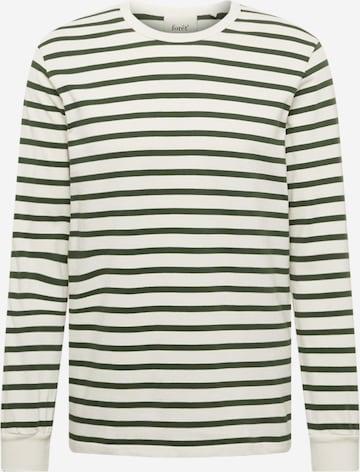 T-Shirt 'NOSTALGIA' forét en blanc