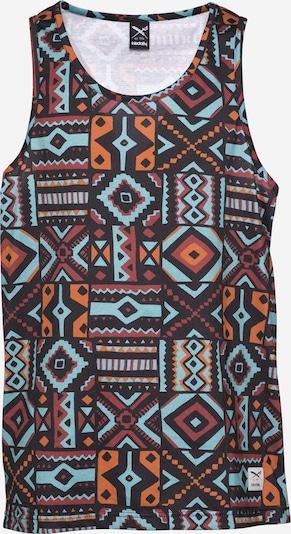 Iriedaily Shirt 'Theodore 2' in hellblau / anthrazit / orange / pastellrot, Produktansicht
