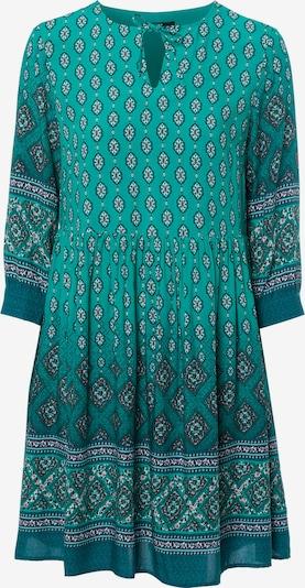 zero Kleid in dunkelgrün / mischfarben, Produktansicht