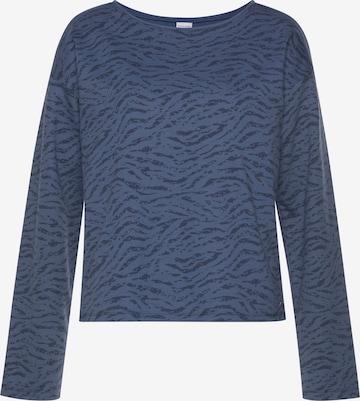 LASCANA Sweatshirt in Blue