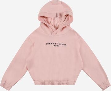 Sweat-shirt TOMMY HILFIGER en rose