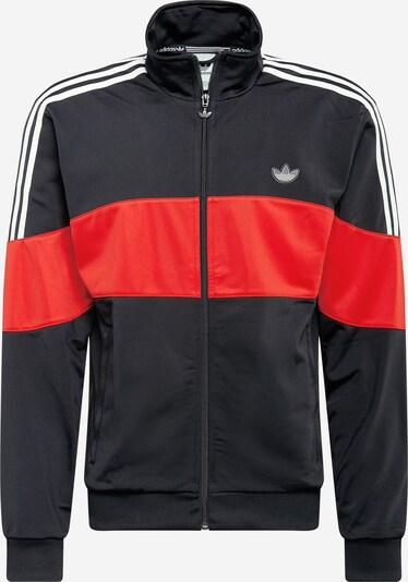 ADIDAS ORIGINALS Jacke in hellrot / schwarz / weiß, Produktansicht