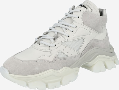 BRONX Sneakers high 'TAYKE-OVER' in Grey / White, Item view