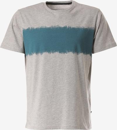 Lakeville Mountain T-Shirt 'Filu' in türkis / graumeliert, Produktansicht