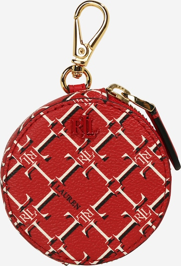 Lauren Ralph Lauren Novčanik u crvena / bijela: Prednji pogled
